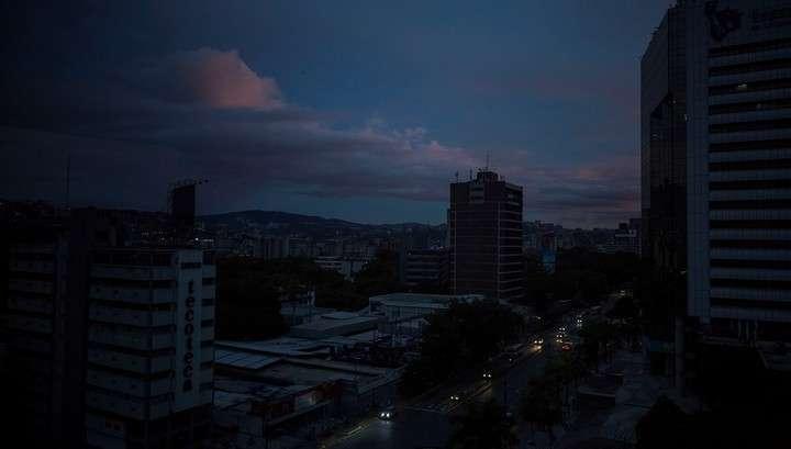 В Венесуэле была предпринята попытка государственного электрического переворота