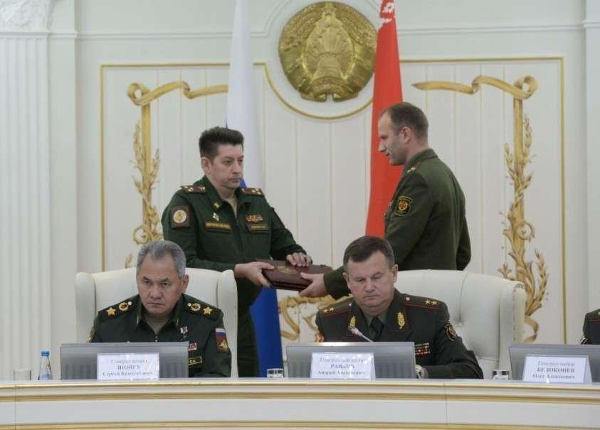 На заседании коллегии был подписан план предстоящих учений