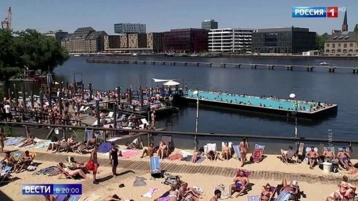 В Европе аномальная жара уносит жизни и угрожает работе ядерных реакторов