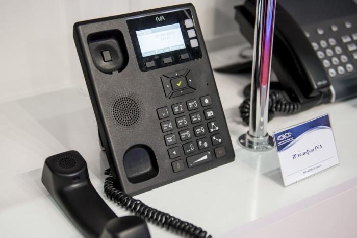 Ростех выводит на рынок полностью российский современный IP-телефон IVA