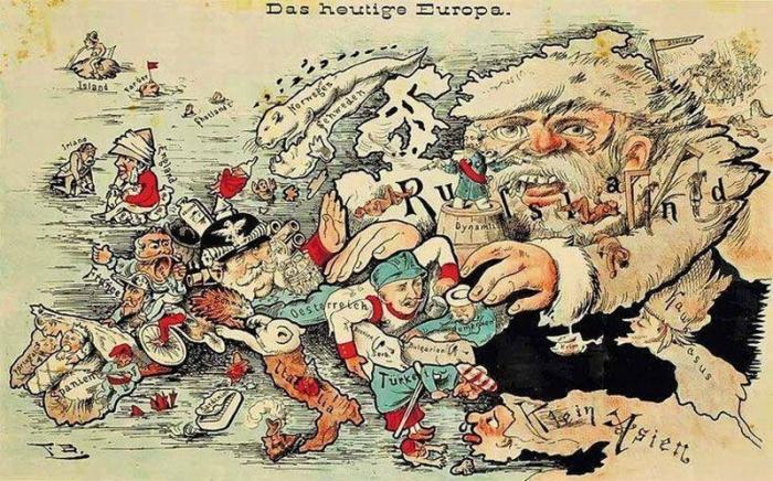 Русские варвары и европейские цивилизаторы: история повторяется в мелочах