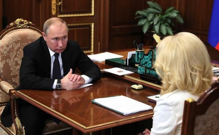 Татьяна Голикова доложила Владимиру Путину о реализации национального проекта «Здравоохранение»