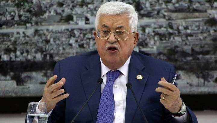 Палестина приостановила действия всех соглашений с Израилем