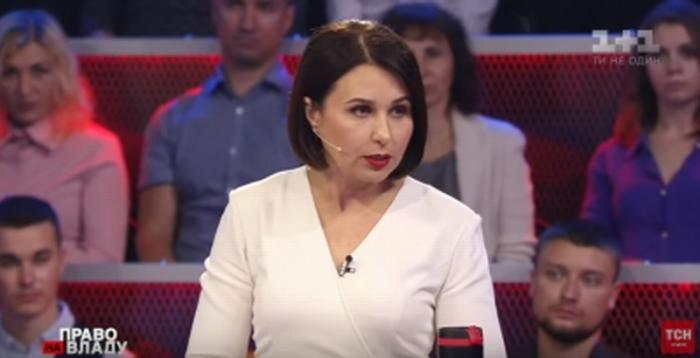 Телеведущая Наталья Мосейчук повторила идиотский «подвиг» грузинского идиота