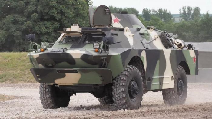 Румыны украли российские танки и БТР, предназначенные для Сербии