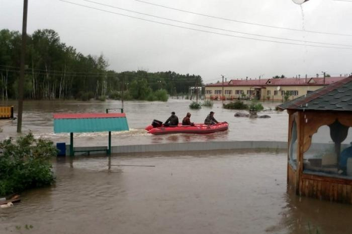 В Амурской области ввели режим чрезвычайной ситуации из-за паводка