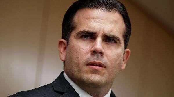 Губернатор Пуэрто-Рико Рикардо Росселло. Архивное фото