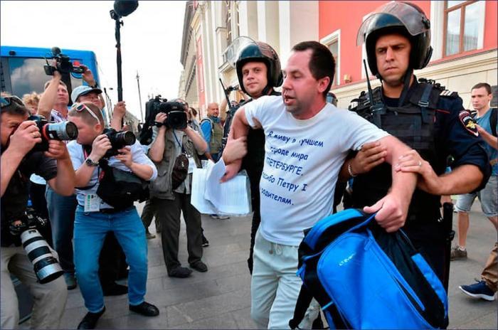 Митинг в Москве: «цивилизованная» Европа – плохой пример для подражания нашим оппозиционерам