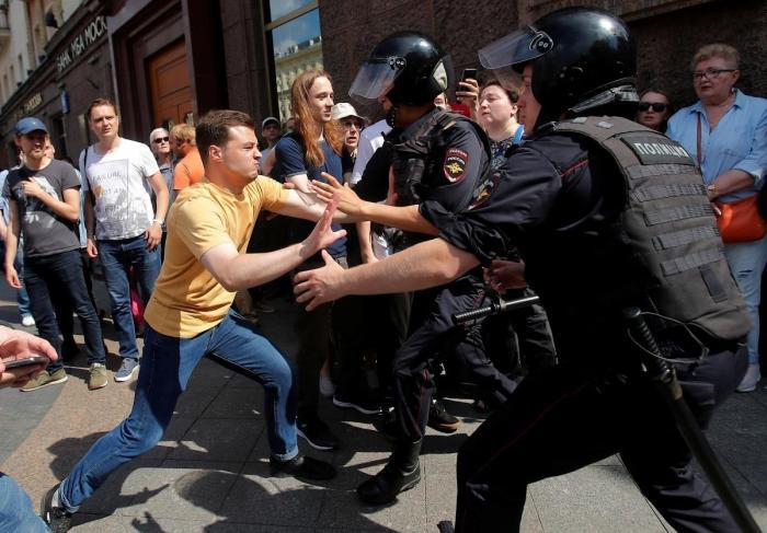 Что показали субботние протесты Навального в Москве