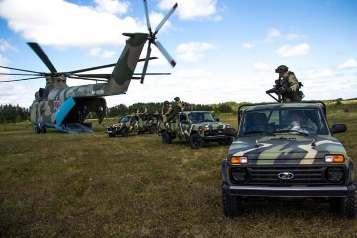 Специальные автомобили «Нива» в 31-й отдельной гвардейской десантно-штурмовой бригаде