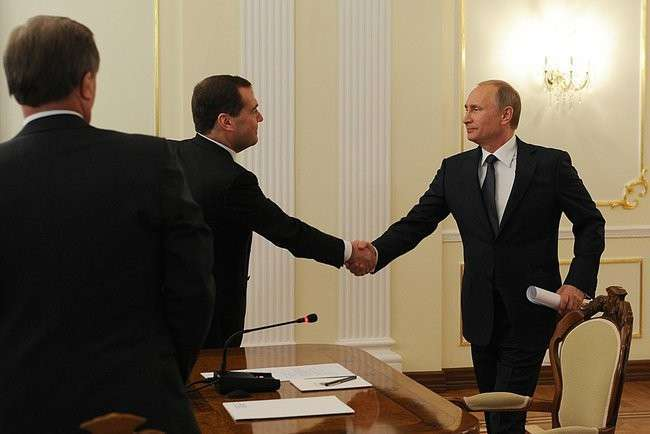 Владимир Путин провёл совещание с Правительством РФ