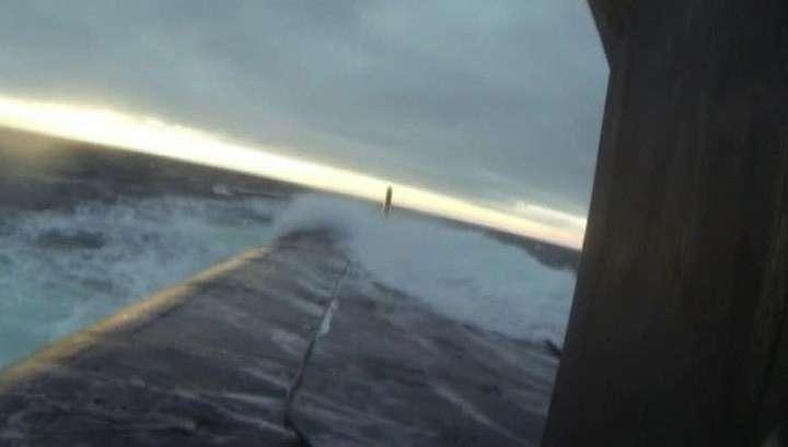 Полёт «Булавы»: эксклюзивный репортаж с борта «Юрия Долгорукого»