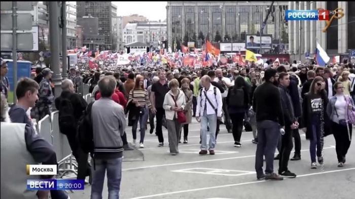 Протесты в Москве организовывались по украинским лекалам
