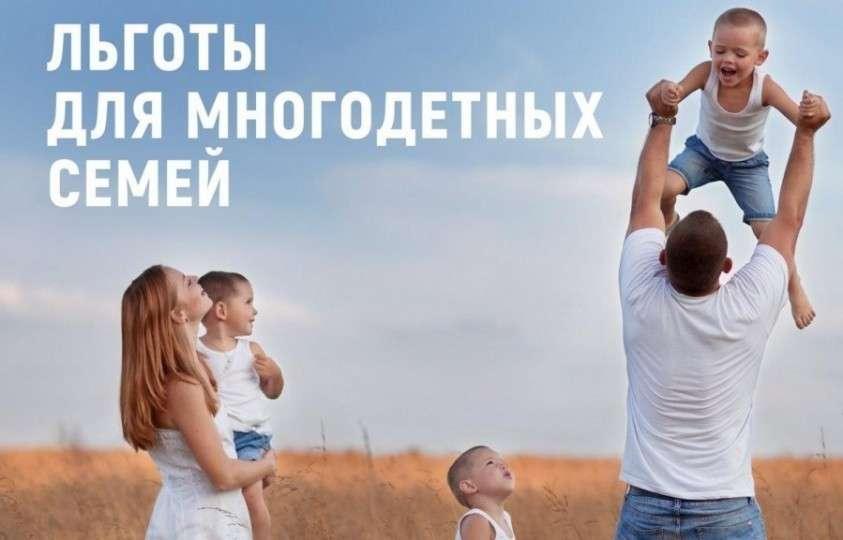 Многодетные семьи получат новые налоговые льготы в Москве