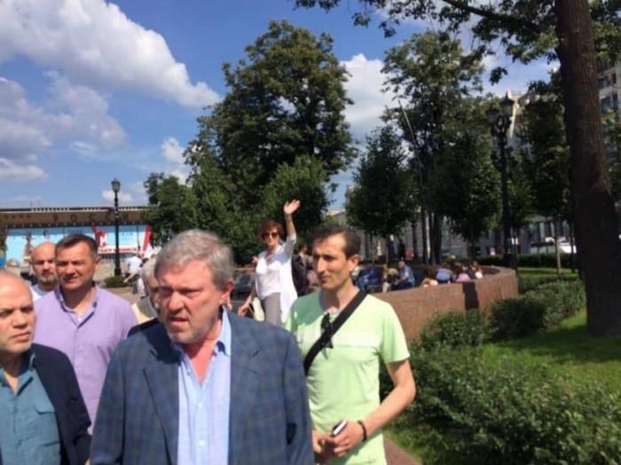 Протесты в Москве 27 июля 2019 года глазами эмигрантки из Канады