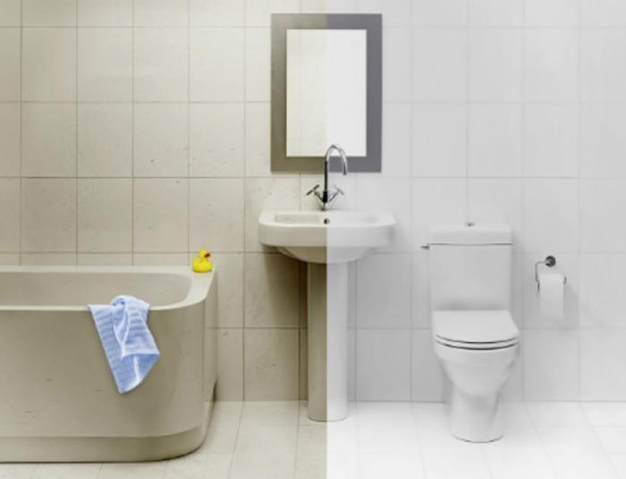 7 простых хитростей, с которыми твоя ванная комната без химии превратится в идеал чистоты