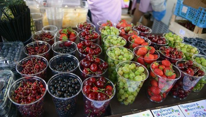 Россия запретила импорт китайских фруктов и ягод из-за наличия в них бактерий
