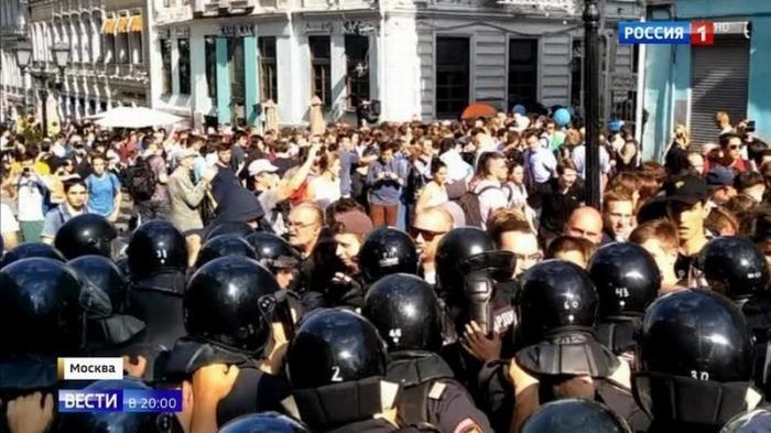 Архитекторы хаоса. Следователи изучают кадры, кто стоит за беспорядками в Москве 27 июля