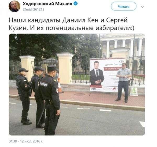 Наёмник Ходорковского Даниил Кен расшатывает обстановку в России