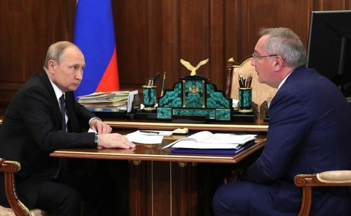 Дмитрий Рогозин доложил Владимиру Путину о ситуации в «Роскосмосе»