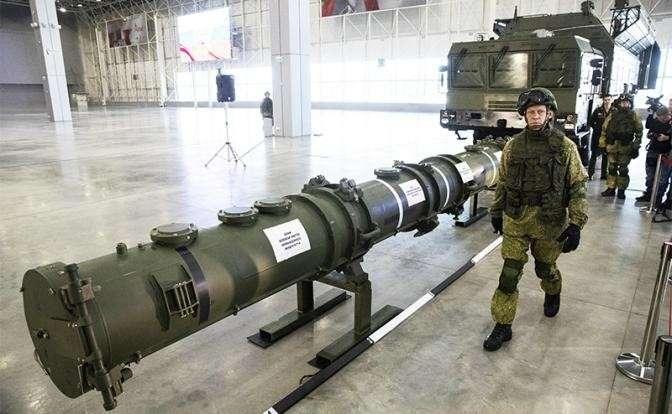 На фото: российская ракета 9М729