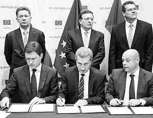 Россия, Украина и ЕС подписали соглашение о поставках и транзите газа