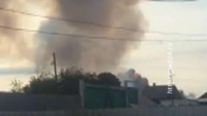 Взрыв арсенала под Ачинском: идет эвакуация 20-километровой зоны