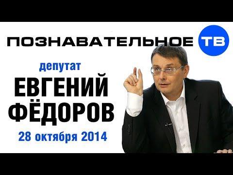 Беседа с депутатом Государственной Думы РФ Евгением Фёдоровым 28 октября 2014 года