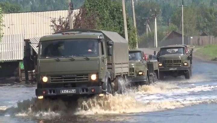 Наводнение под Иркутском идет на спад: в домах воды уже нет