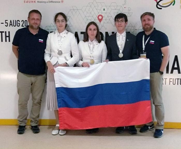 Российские школьники завоевали 3 медали на международной олимпиаде по географии, проходившей в Китае