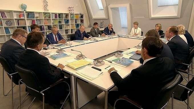 Заседание попечительского совета фонда «Талант и успех»