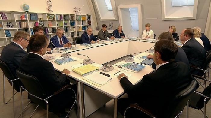 Владимир Путин провёл заседание попечительского совета образовательного фонда «Талант и успех»