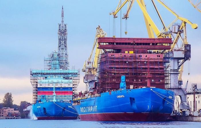 Балтийский завод получил заказ на строительство ещё 2 инновационных атомных ледоколов проекта 22220