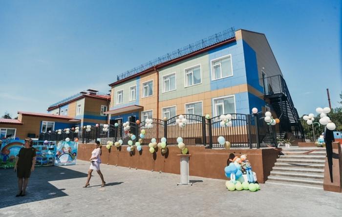 В городе Свободном Амурской области открылся новый детский сад на 120 мест