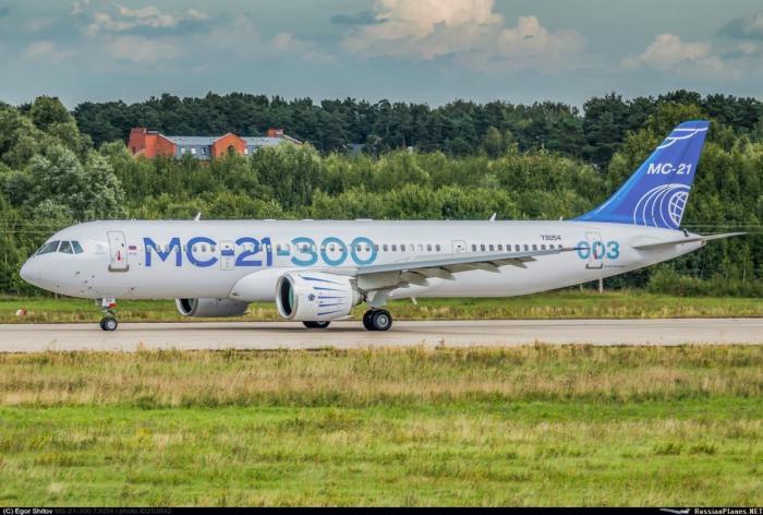 Российский лайнер МС-21 – импортозамещение от системы управления двигателем до колёс