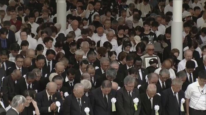В Японии вспоминают жертв американской атомной бомбардировки Нагасаки