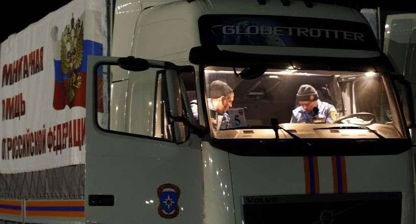 Общий объем гуманитарного груза, доставленного в Донбасс, составил 1 тыс. тонн
