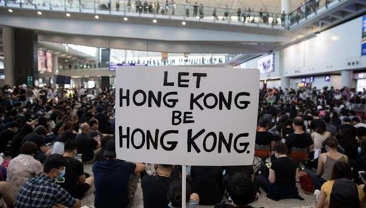 Протесты в Гонконге: между Китаем и США разгорелся большой скандал