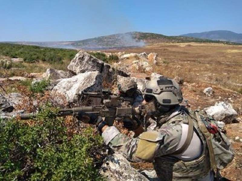 Российские военные специалисты обеспечивают наступление в Северной Хаме