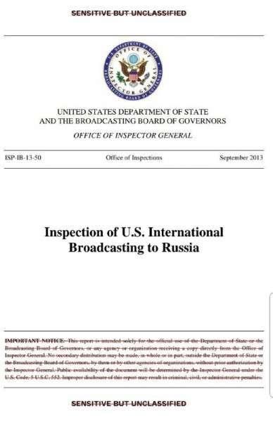 Телеканал «Дождь» официально связан с Госдепом США