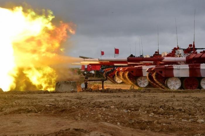 Российские танкисты заняли первое и второе место в гонке «Танкового биатлона» – 2019