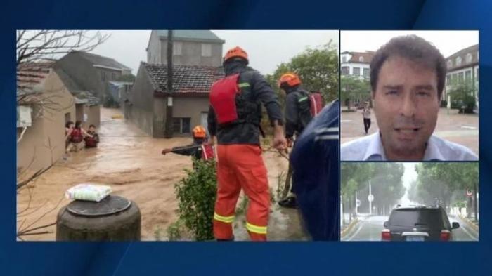 Удар тайфуна «Лекима» по Китаю оставил в руинах почти все побережье
