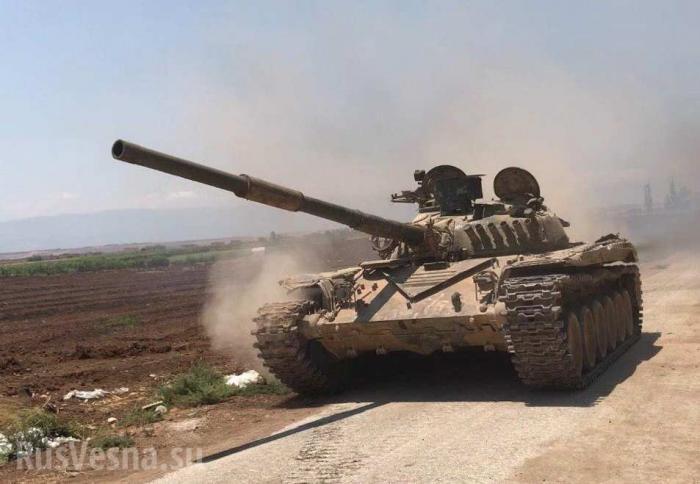 Армия Сирии ворвалась в крепость врага на плечах отступающих боевиков