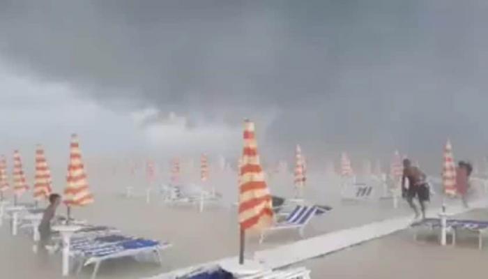 Европу потрепал мощный циклон. Проводятся спасательно-восстановительные работы