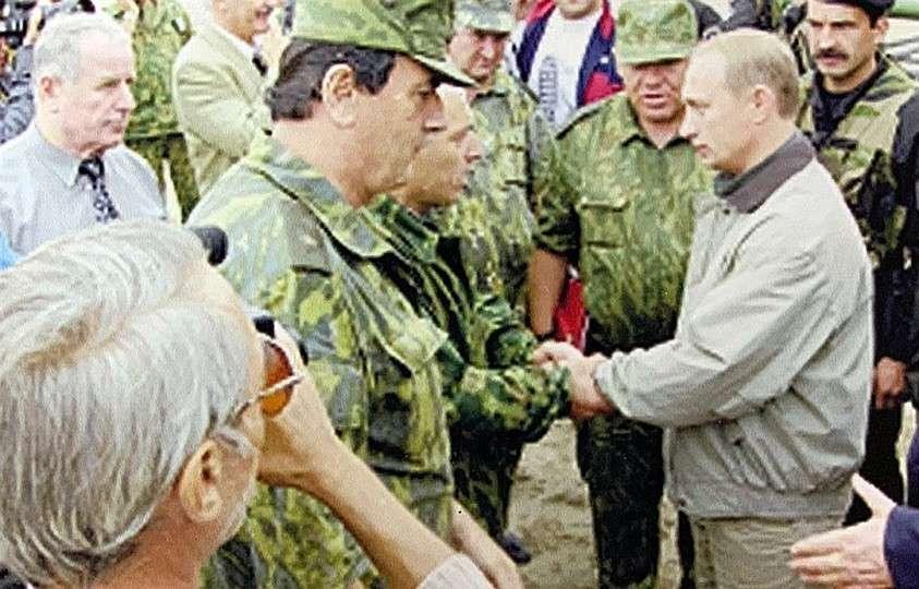 1999 год. Приезд Владимира Путина на Кавказ