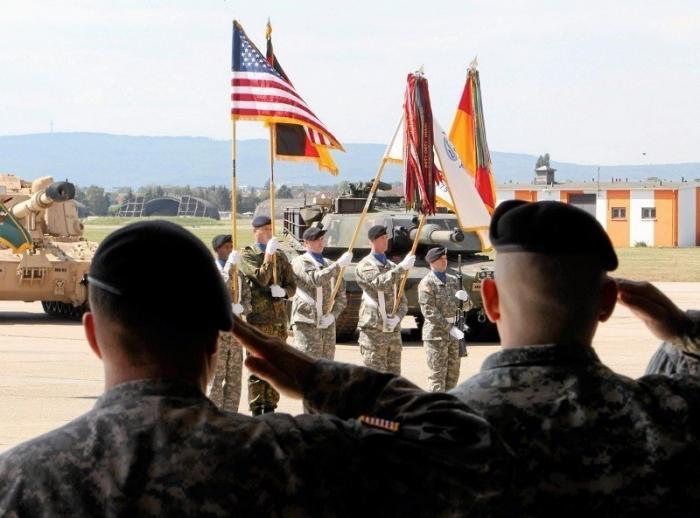 США хотят вывести войска из Германии, тем самым превращая её в суверенное государство