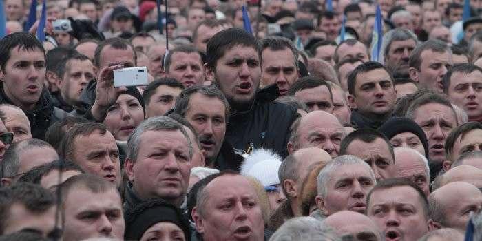 В Украине наблюдается массовый психоз
