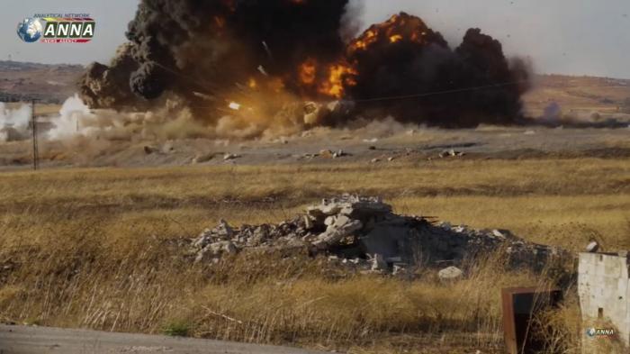 Сирия. Хроника краха обороны Эль-Латаминского выступа