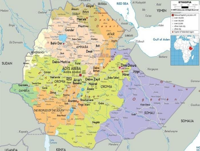 Россия и Эфиопия завершают переговоры по строительству атомной электростанции