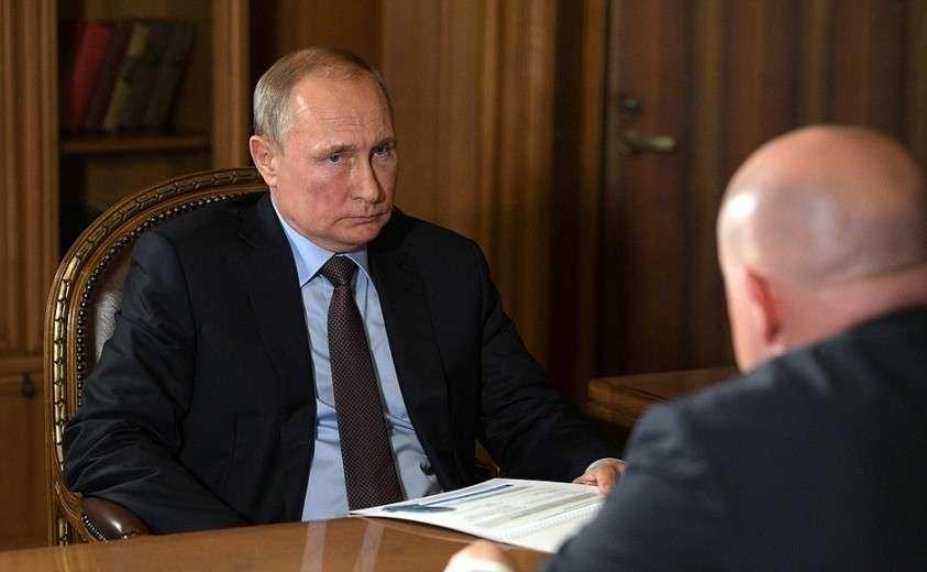 Рабочая встреча с временно исполняющим обязанности губернатора города Севастополя Михаилом Развожаевым.